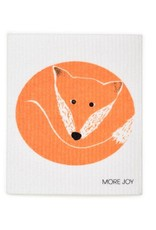 Sweetgum Orange Fox Swedish Dishcloth