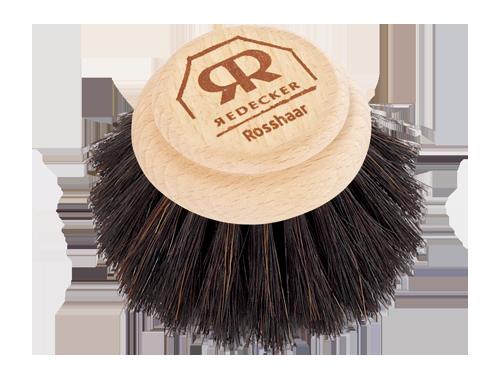 Burstenhaus Redecker Dish Washing Brush Replacement Head, Black - 4 cm