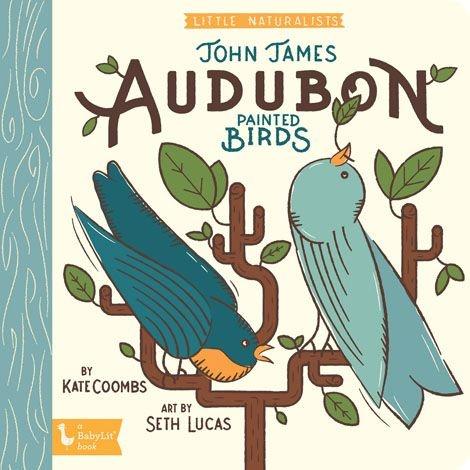 Baby Lit John James Audubon Painted Birds