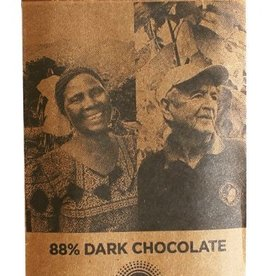 Askinosie Chocolate 88% Super Dark Blend Chocolate Bar, Tanzania & Ecuador