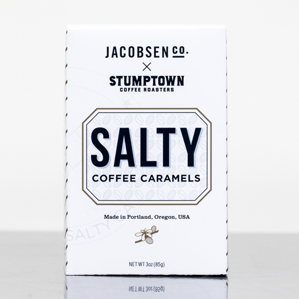 Jacobsen Salt Salty Coffee Caramel Box - 3.0 oz