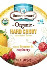 Torie & Howard Lemon & Raspberry Hard Candy