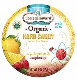 Torie & Howard Lemon & Raspberry Hard Candy