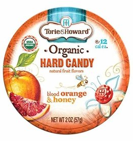 Torie & Howard Blood Orange & Honey Hard Candy