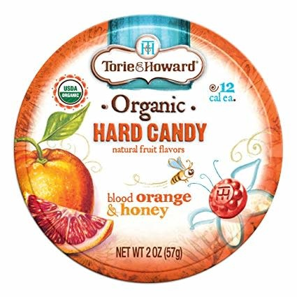 Torie & Howard Blood Orange & Honey Hard Candy