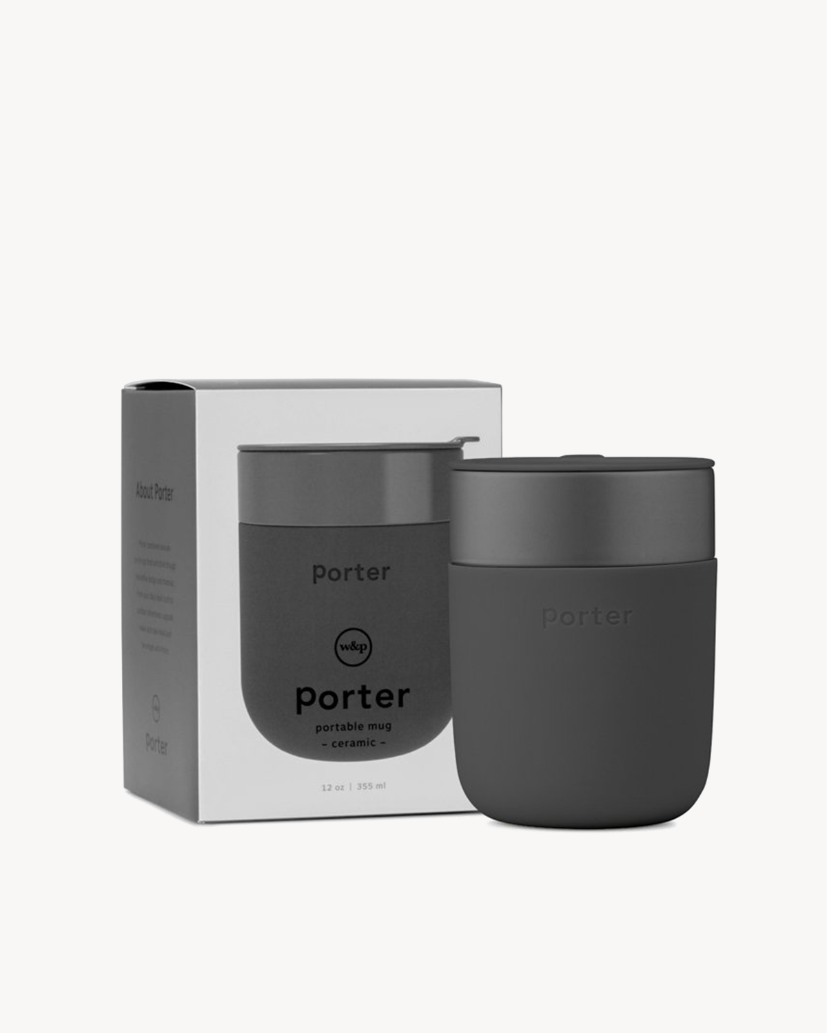 W&P Design The Porter Mug -12 oz