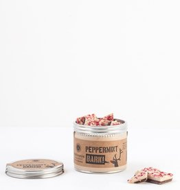Askinosie Chocolate Peppermint Bark, Sm. Tin 150g