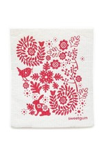 Sweetgum Red Garden Dishcloth