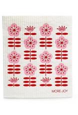 Sweetgum Cherry Flowers Dishcloth