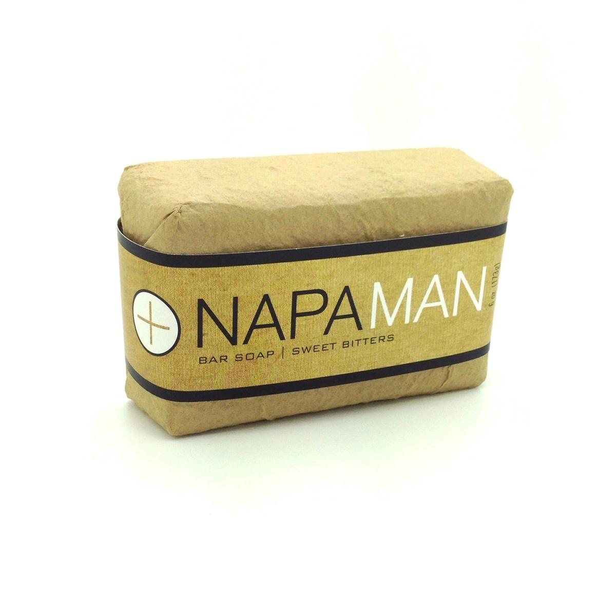 Napa Soap Company Napa Man Bar Soap - Sweet Bitters
