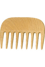 Burstenhaus Redecker Afro Comb, Checkerwood