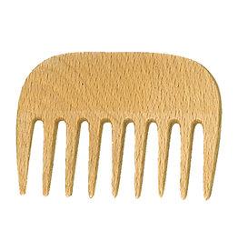 Burstenhaus Redecker Afro Comb, Checkerwood