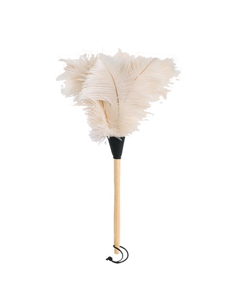 Burstenhaus Redecker Ostrich Feather Duster, White - 50 cm