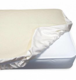 Naturepedic Waterproof Crib Pad, Organic Cotton, Fitted