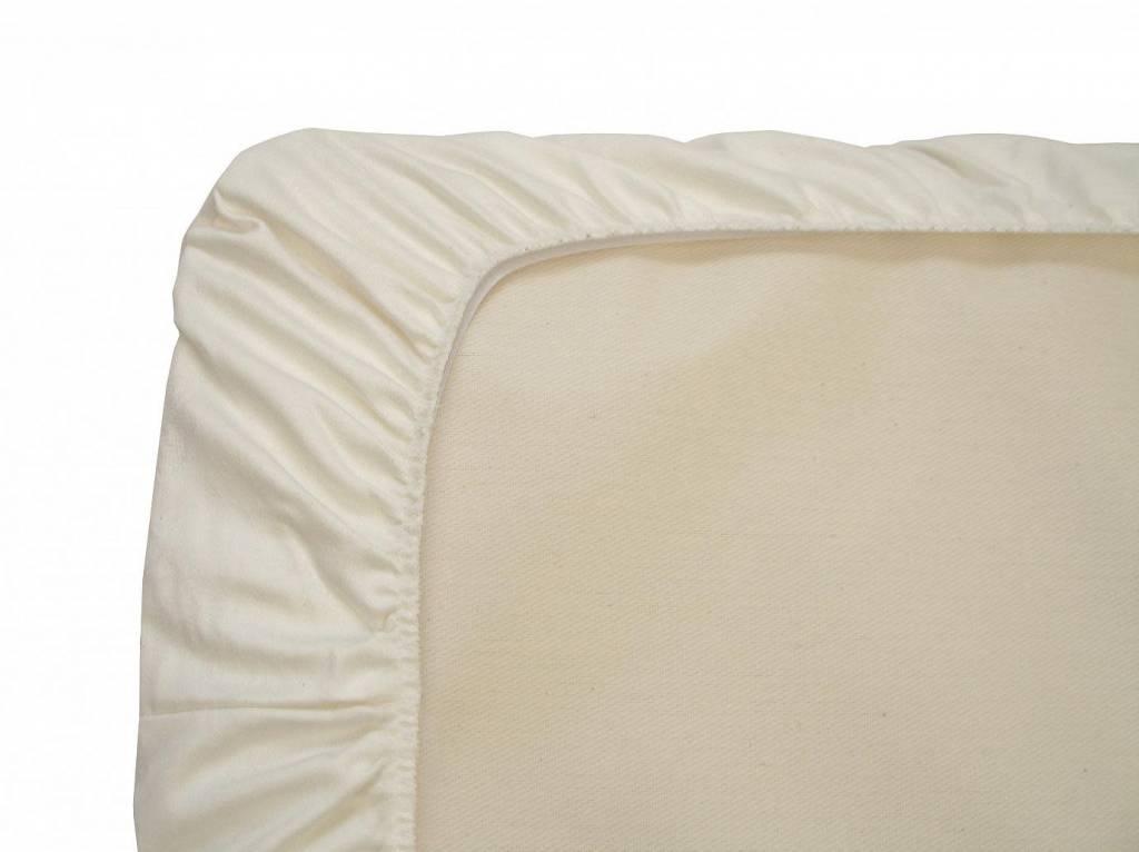 Naturepedic Waterproof Crib Pad, Organic Cotton, Fitted