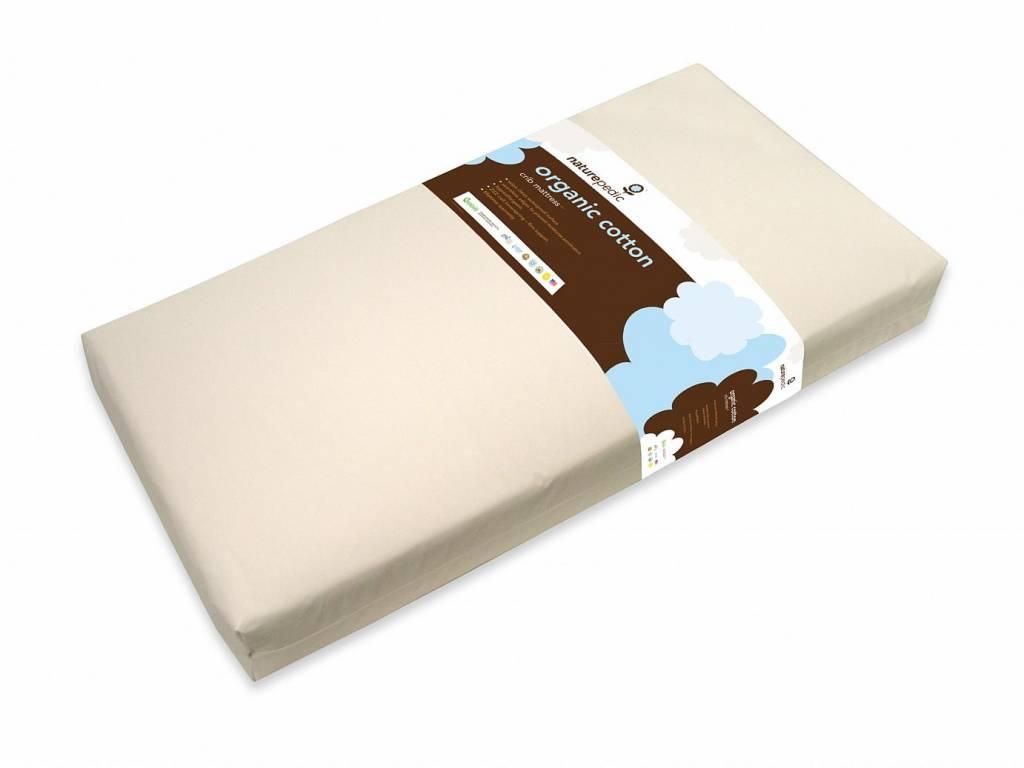 Naturepedic Crib Mattress, Organic Cotton Lightweight Classic 2-Stage