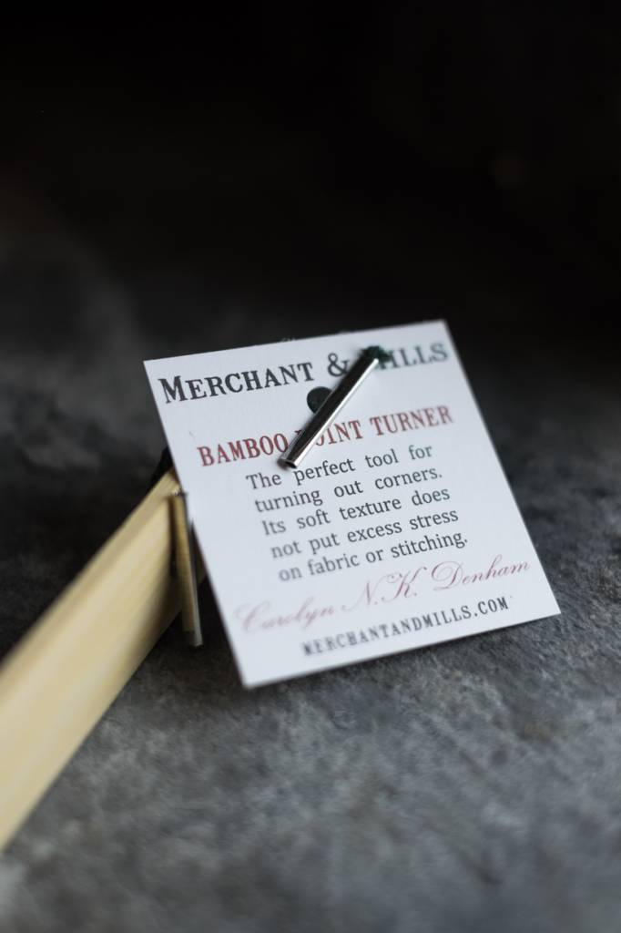 Merchant & Mills England Bamboo Point Turner