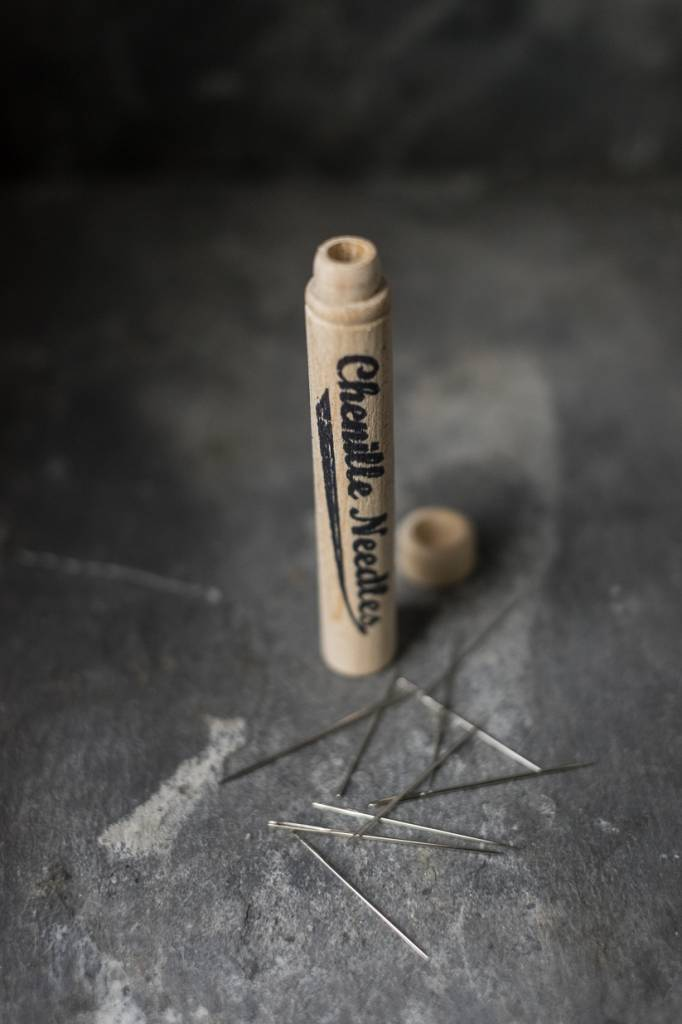 Merchant & Mills England Chenille Needles in Wooden Case
