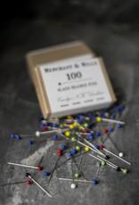 Merchant & Mills England Glass Headed Pins