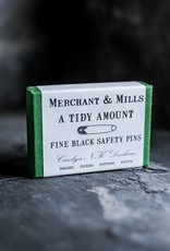 Merchant & Mills England Safety Pins Black