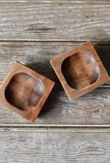 Peg and Awl Pinch Bowl, Set of 2 - Walnut