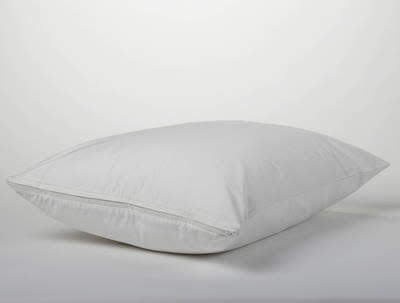 Coyuchi Pillow Protector Case, Standard - Alpine White