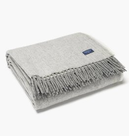 Faribault Woolen Mill Co. Ashby Twill Wool Throw - Natural