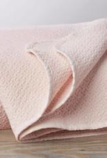 Coyuchi Honeycomb Baby Blanket, Organic Cotton - Camelia