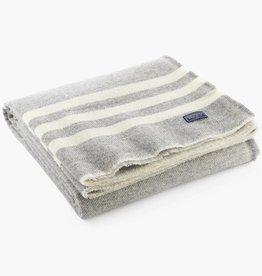 "Faribault Woolen Mill Co. Trapper Wool Throw, 50"" x 72 - Gray"
