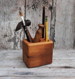Peg and Awl Desk Caddy, Walnut - Small