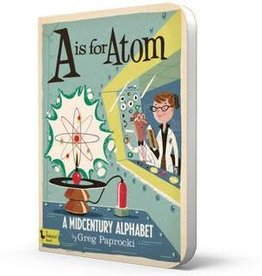 Baby Lit A is for Atom Board Book