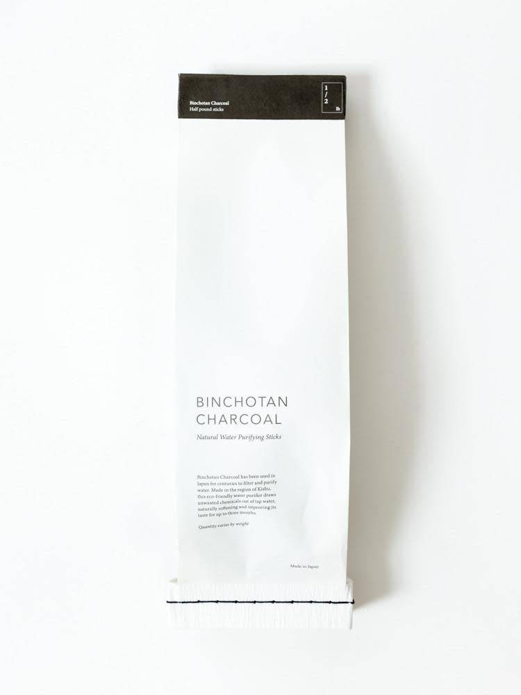 Morihata International Ltd. Binchotan Charcoal, Natural Water Purifier - Black
