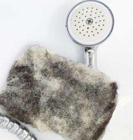 Rawganique Organic Hand-Felted Wool Scrub & Buffing Pad