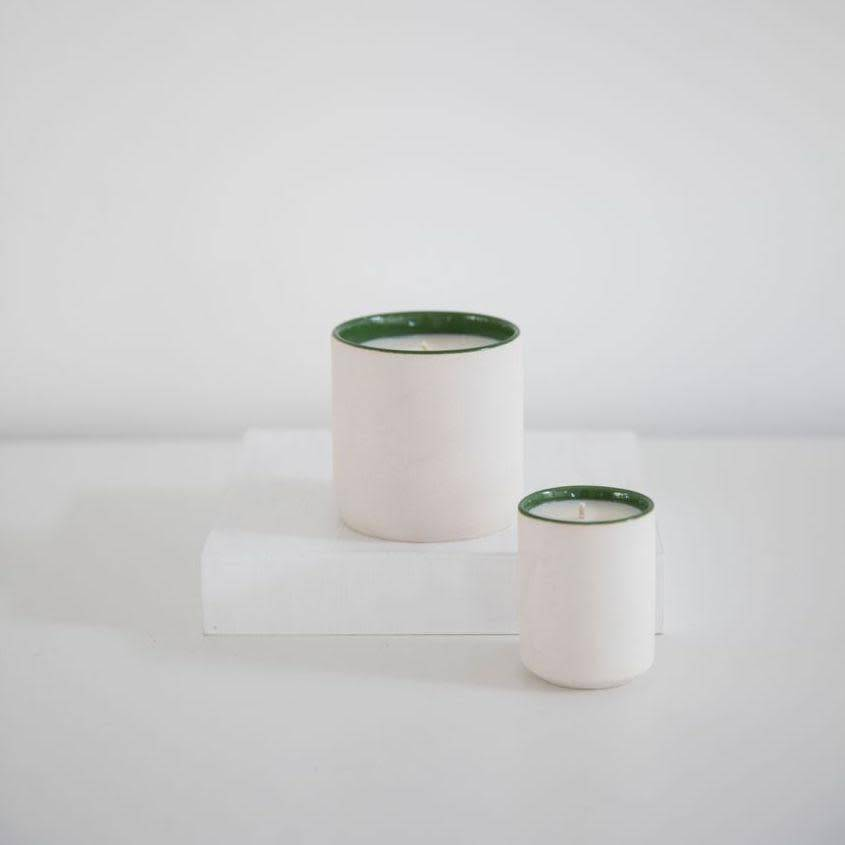 Standard Wax Hand Poured White Tea + Thyme Soy Candle - 3.5oz