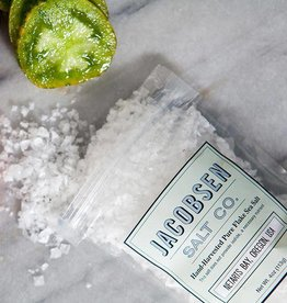 Jacobsen Salt Hand-Harvested Pure Flake Sea Salt, 4 oz.