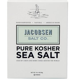 Jacobsen Salt Pure Kosher Sea Salt - 1 lb.