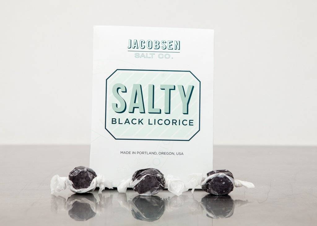 Jacobsen Salt Salty Black Licorice Box - 6.5 oz