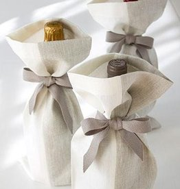 Studio Patro Two-Tone Linen Gift Bag