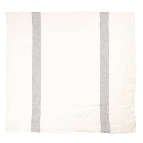 """Libeco Belgian Linens Porticcio Tea Towel, 27"""" x 27"""" - Grey"""