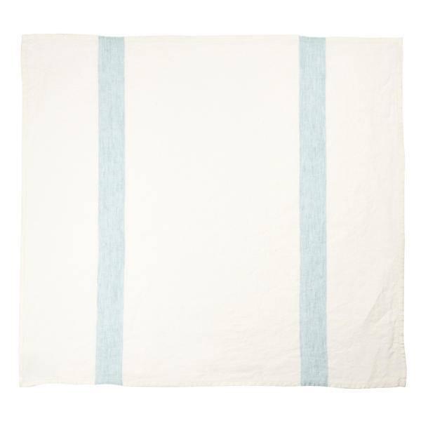 "Libeco Belgian Linens Porticcio Tea Towel, 27"" x 27"" - Turquoise"