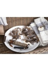 "Libeco Belgian Linens Long Island Linen Tea Towel , 23.5"" x 31"" - Stripe"