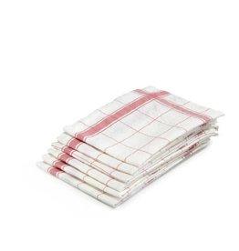"""Libeco Belgian Linens Parma Linen Tea Towel, 27"""" x 27"""" - Rose"""