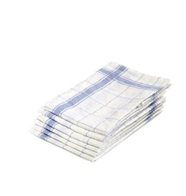 "Libeco Belgian Linens Parma Linen Tea Towel, 27"" x 27"" - Light Blue"