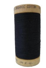 Scanfil Scanfil Organic Cotton Thread, 300 yds. - Coal Black