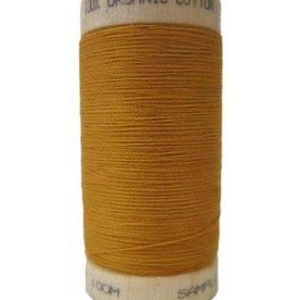 Scanfil Scanfil Organic Cotton Thread, 300 yds. - Ochre