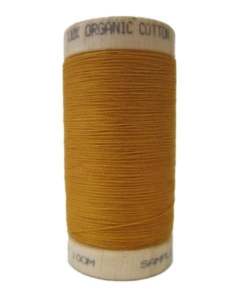 Scanfil Scanfil Organic Cotton Thread, 300 yds. - Ochre