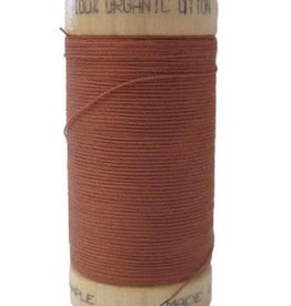 Scanfil Scanfil Organic Cotton Thread, 300 yds. - Tera Cotta