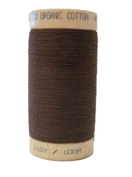 Scanfil Scanfil Organic Cotton Thread, 300 yds. - Walnut