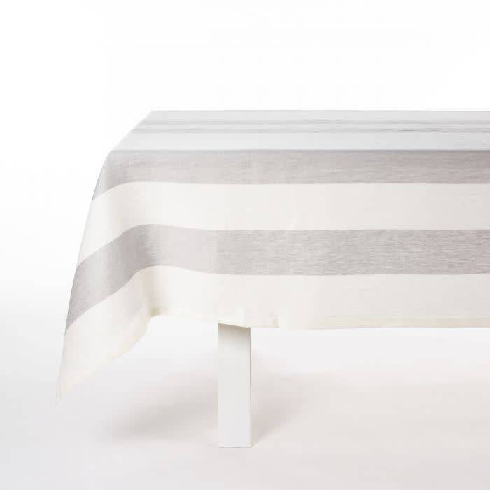 "Libeco Belgian Linens Long Island Linen Table Runner, 21"" x 57"" - Stripe"