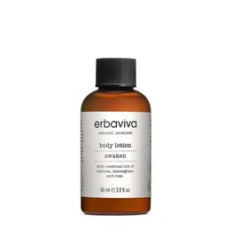 Erbaviva Awaken Body Lotion, Travel - 60ml / 2 fl. oz.